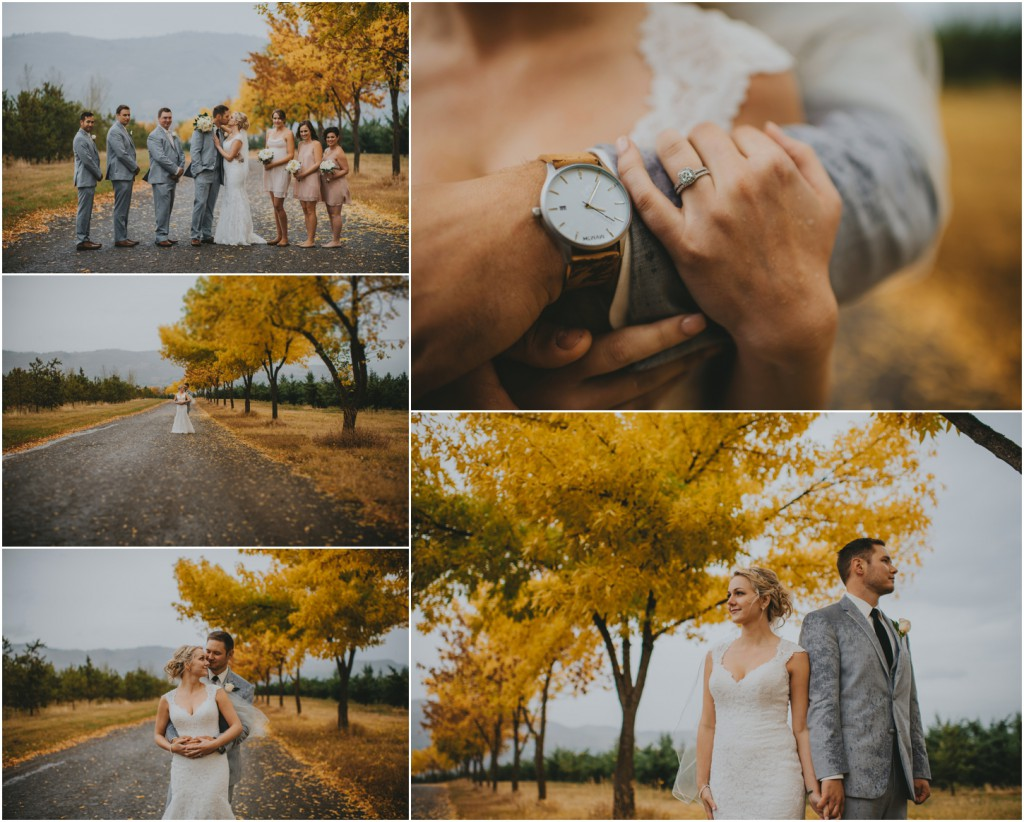 Fall vernon wedding photography