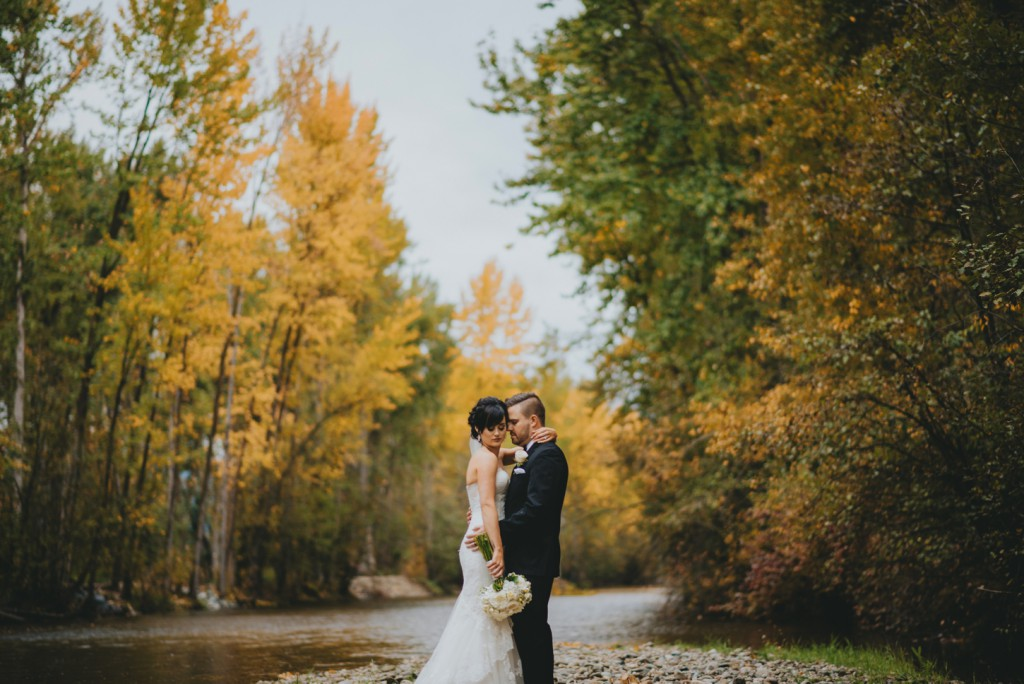 Kelowna Fall Wedding Photo