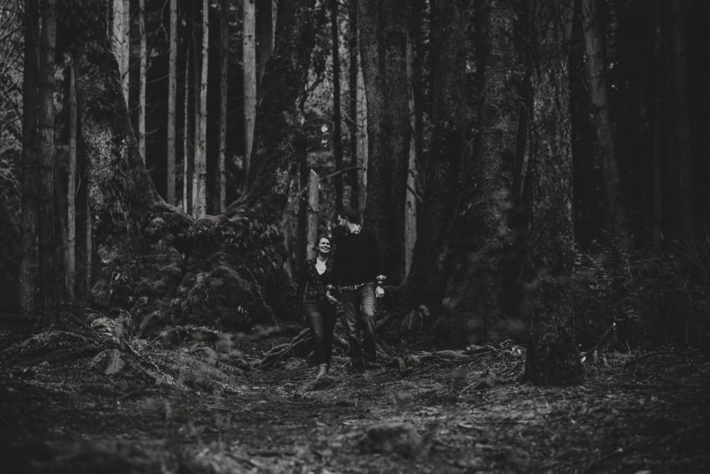 Moody Forest vancouver Engagement