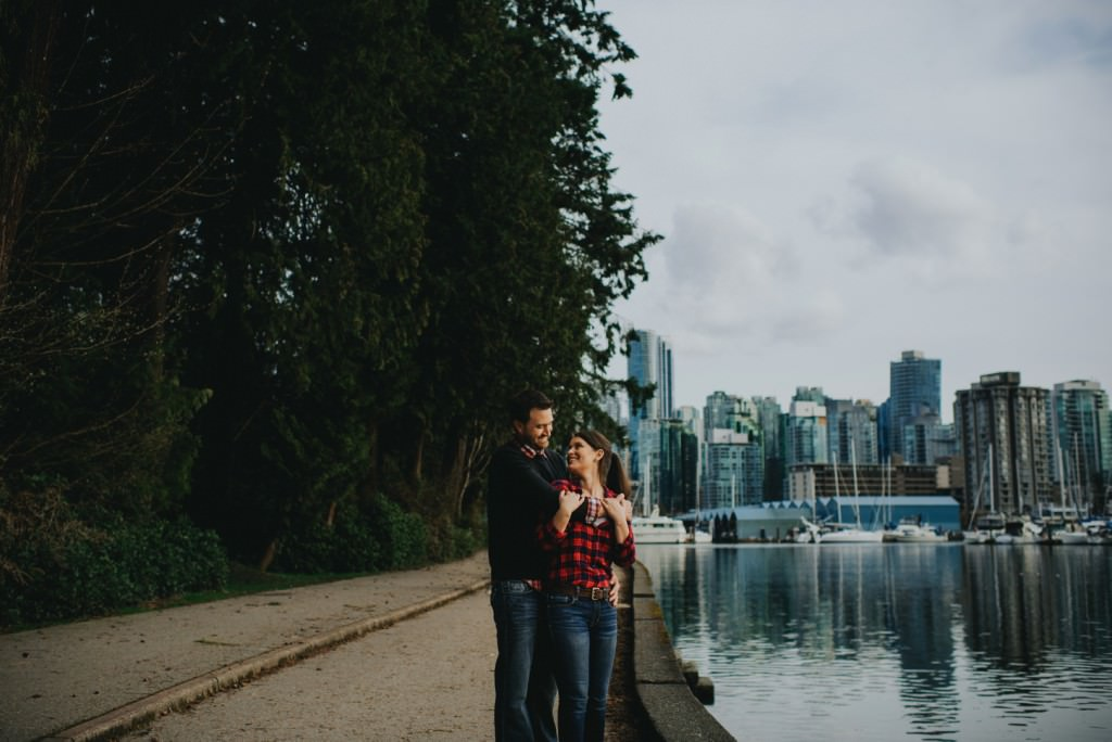 Vancouver Seawall Engagement Session