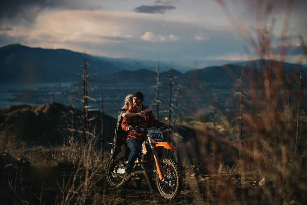 Dirt bike engagement on KTM 450