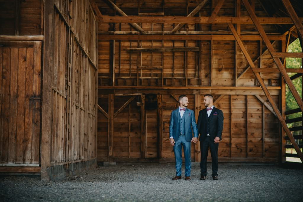 Okanagan Same Sex Wedding Photo