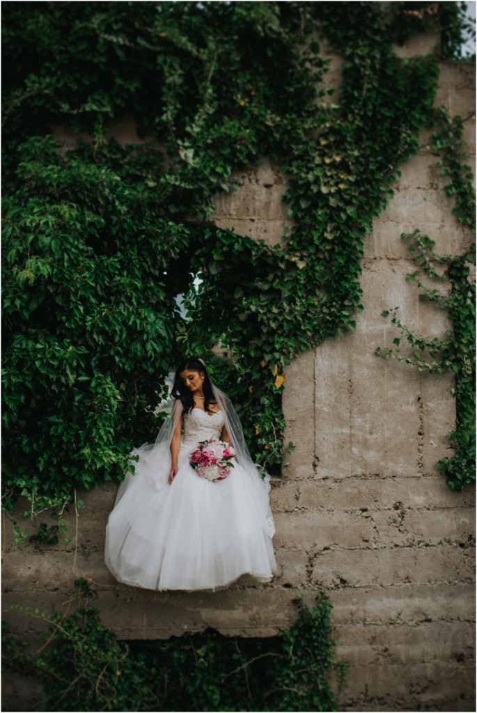 Bridal Portrait on stunning old architecture