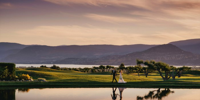 The Harvest Golf Club Wedding Photo