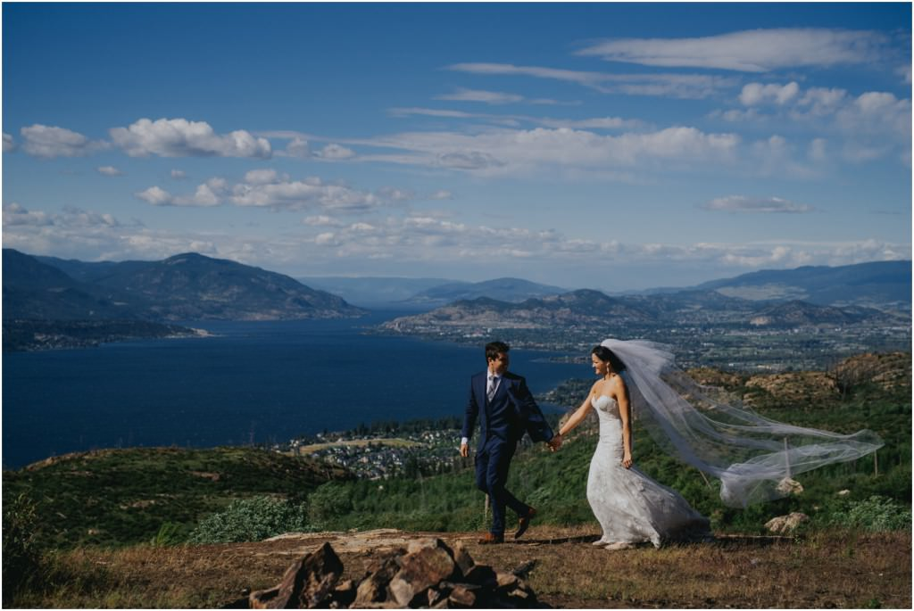 Okanagan Mountain Top Wedding