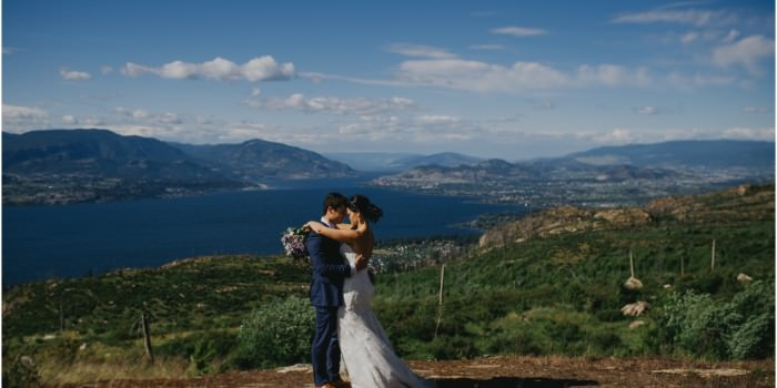 Kelowna Mountain Wedding
