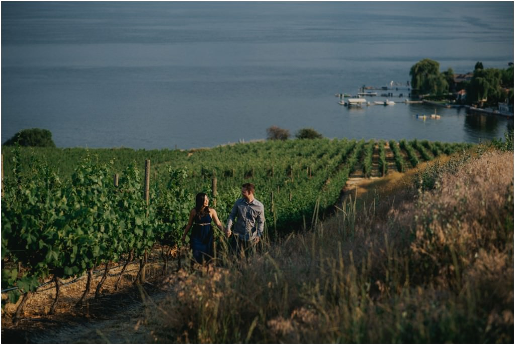 Okanagan Vineyard Engagement - Joelsview Photography_0001