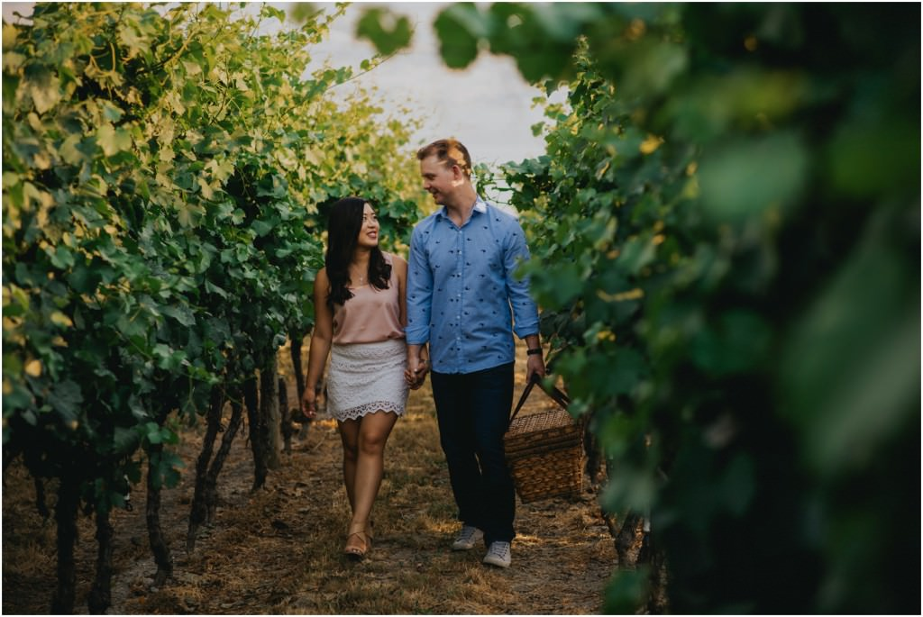 Kelowna Winery Engagement