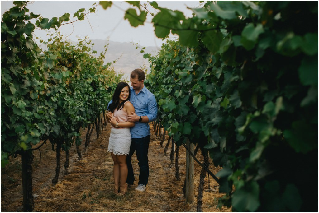 Quails Gate Winery Engagement