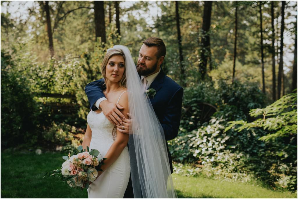 Kelowna Forest Wedding
