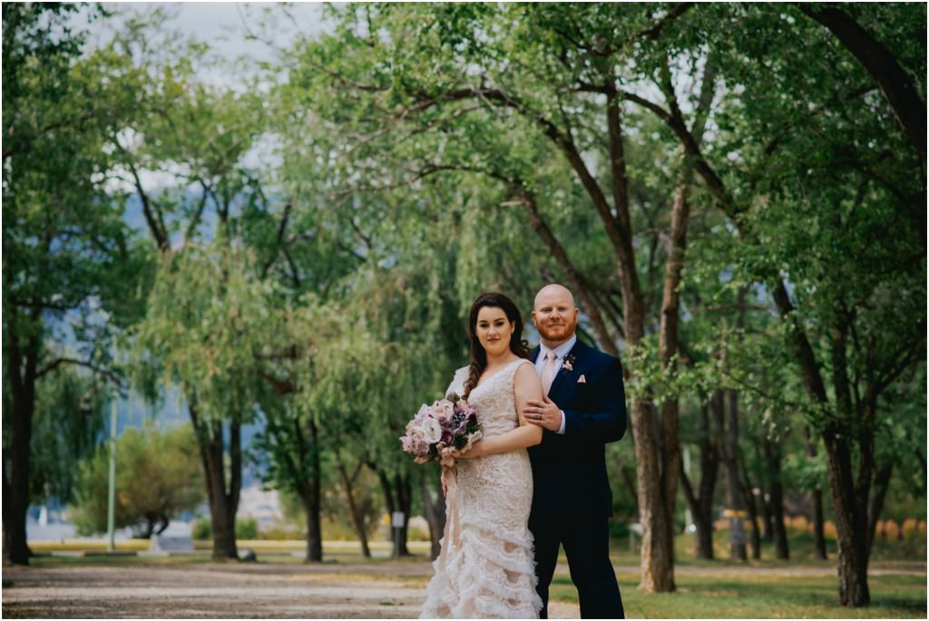 Knox Mountain Wedding Photo
