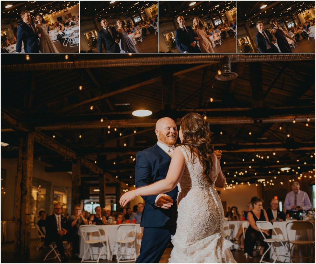 First dance at Laurel Packing House