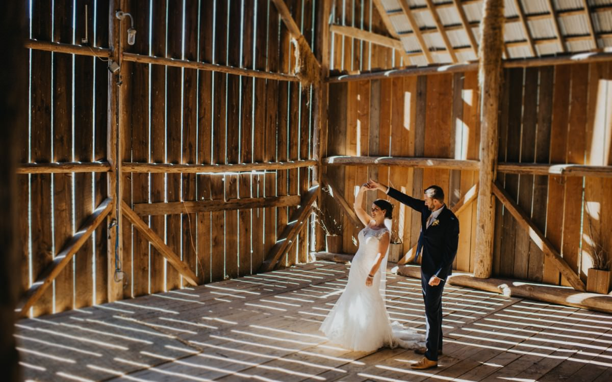 Birds Eye Cove Barn Wedding