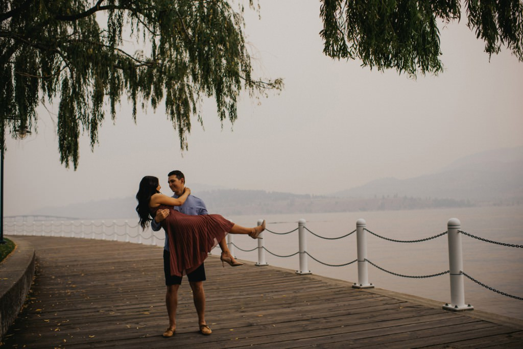 Downtown Kelowna Engagement Session
