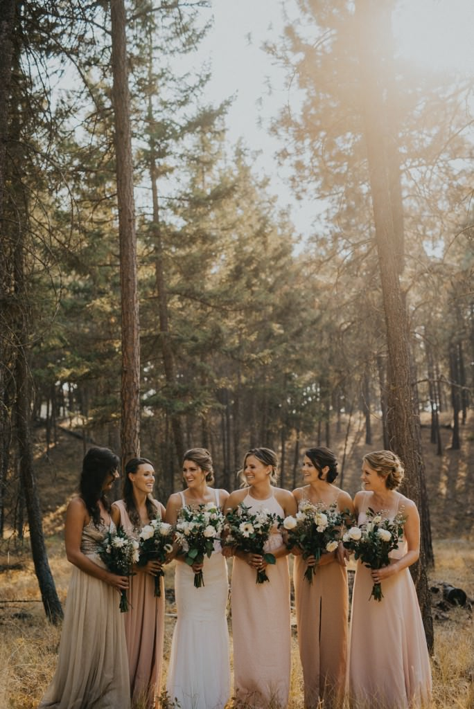 Okanagan Forest Wedding Photography