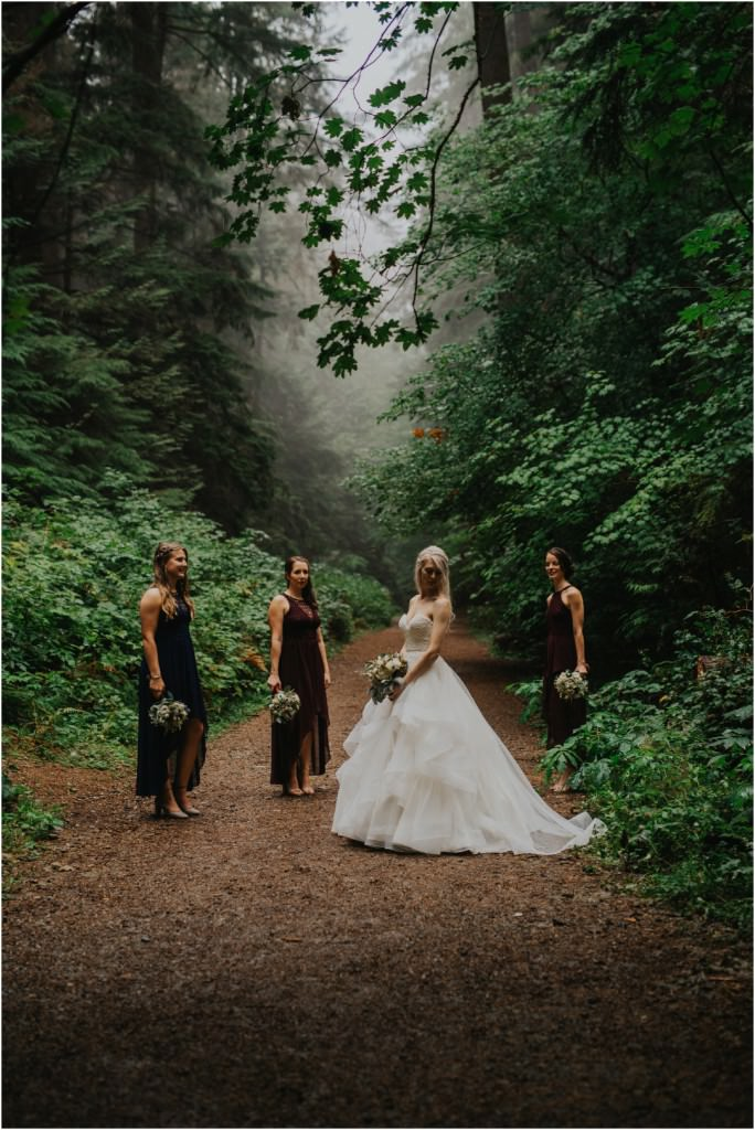 Vancouver Forest Wedding Photos