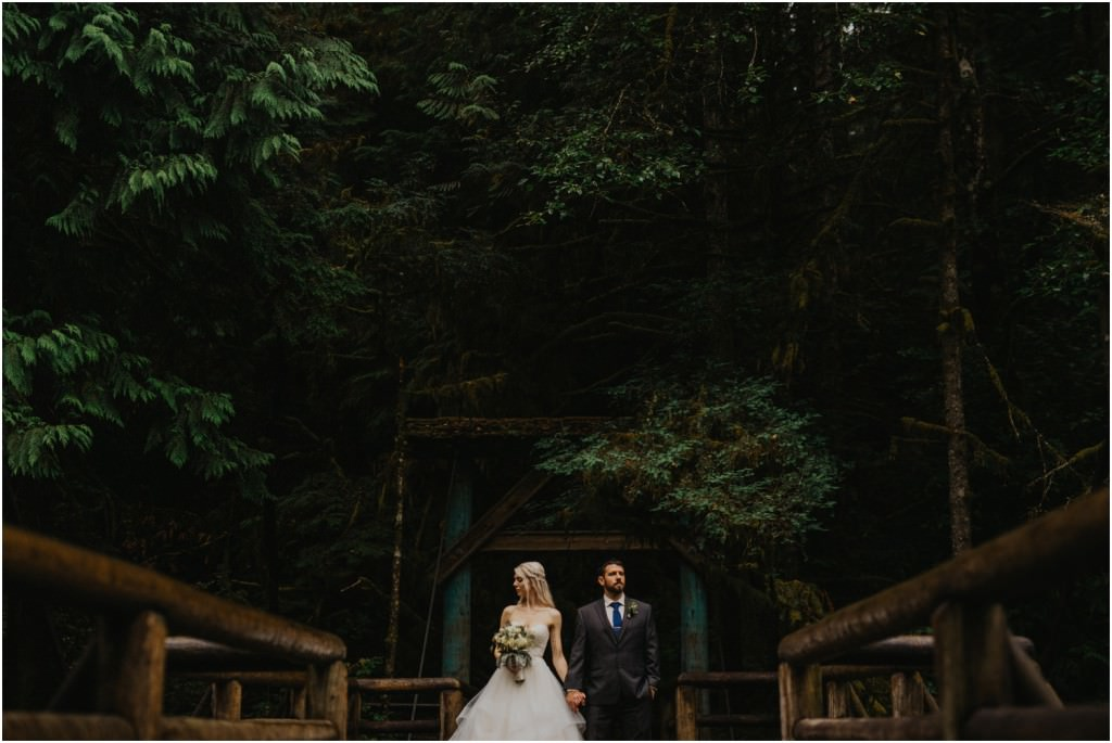 Capilano Bridge Wedding