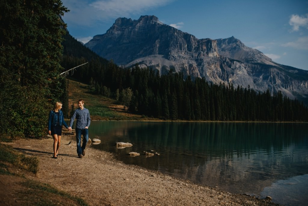Emerald Lake Engagement