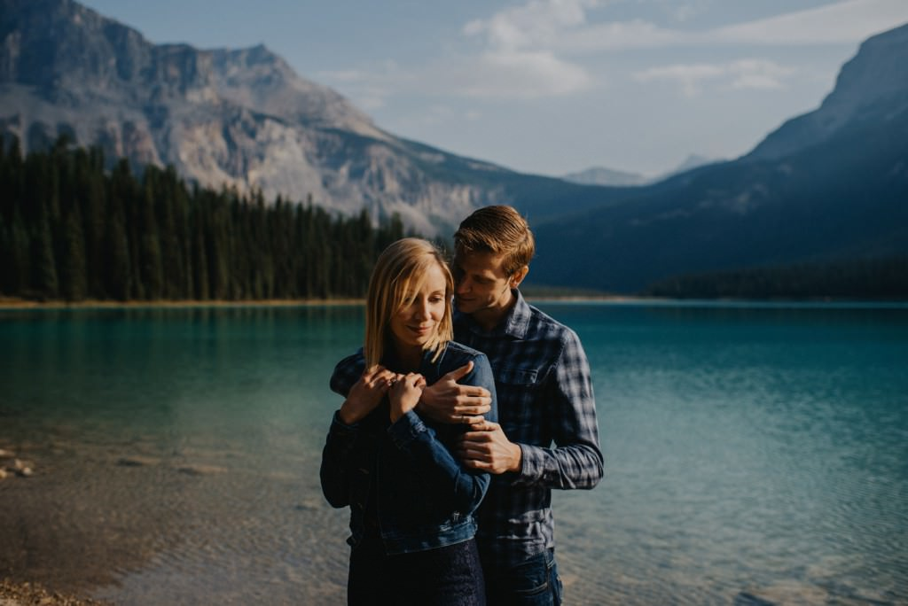 Emerald Lake Engagement Photography