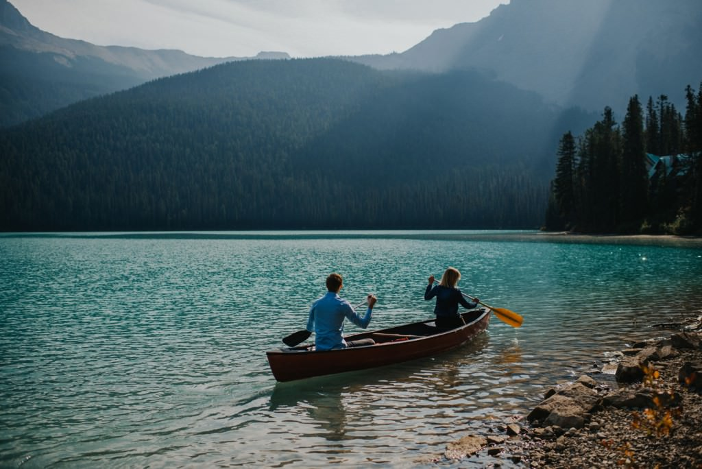 Canoe Mountain Engagement Photos