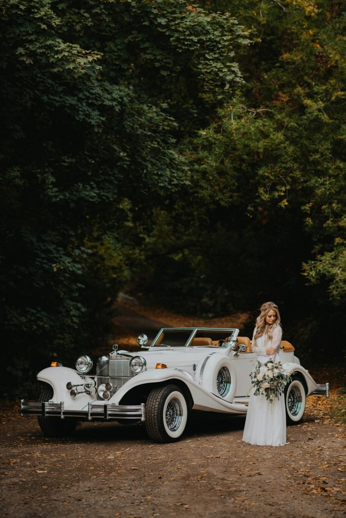 Excalibur Car Wedding Photos