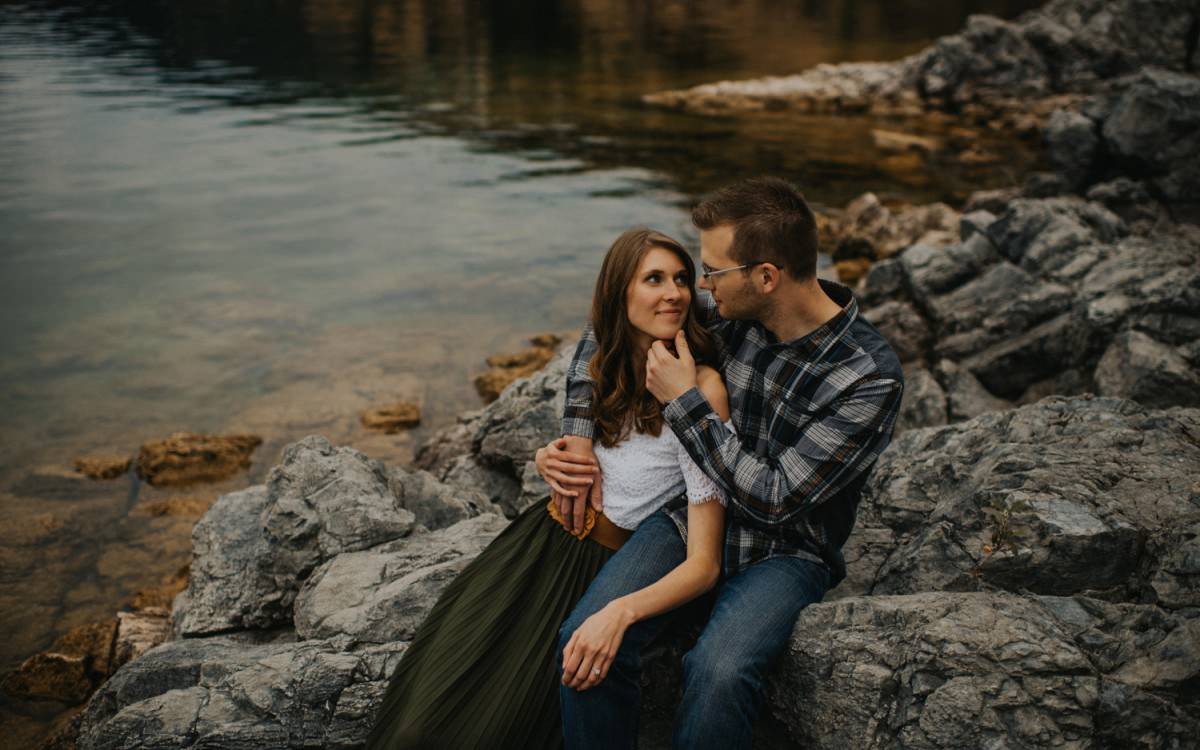 Lakeside Kelowna Engagement