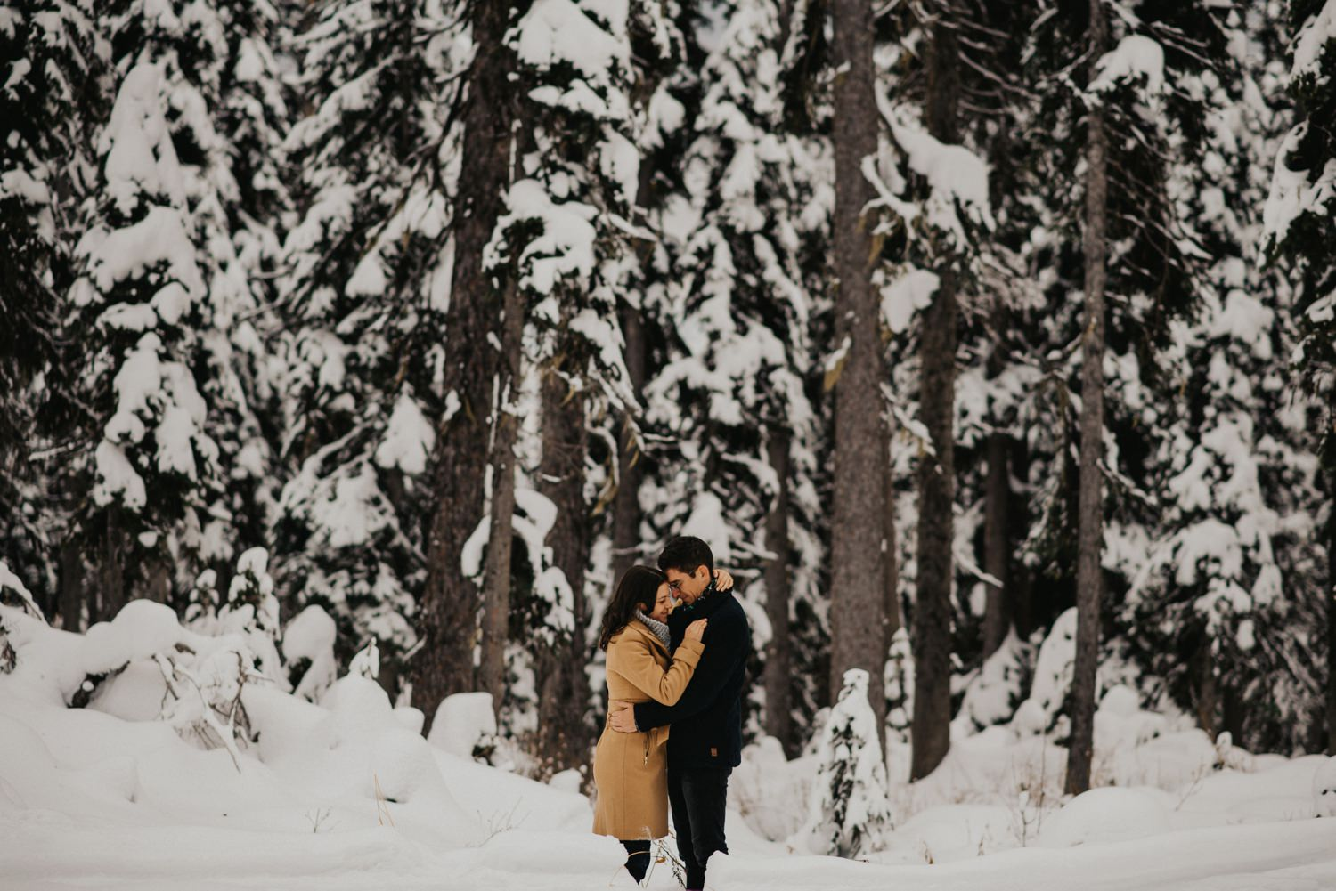 Okanagan Winter Engagement