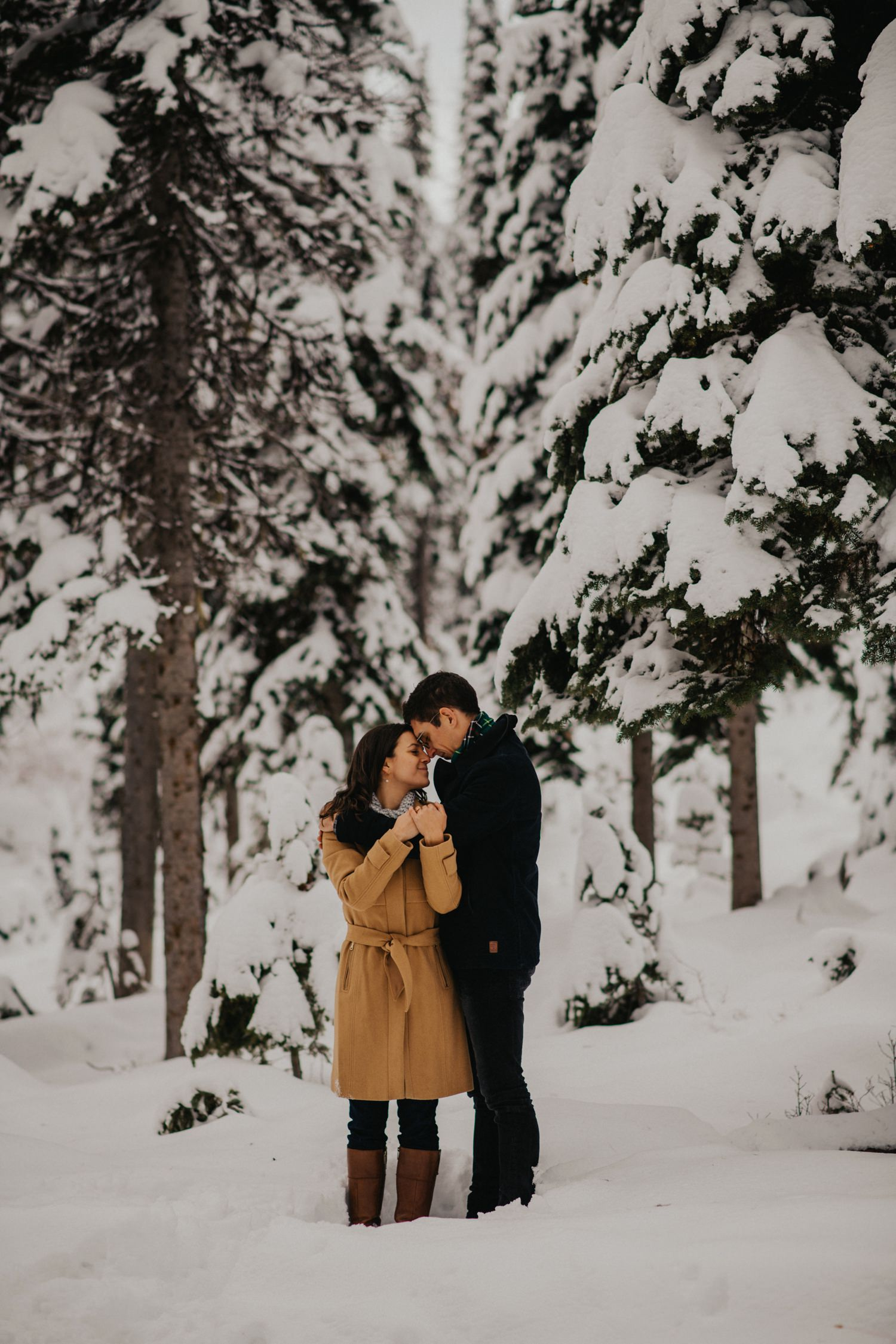 Kelowna Winter Engagement