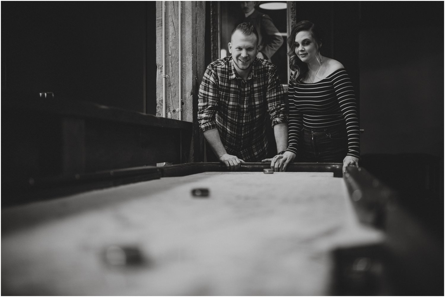 Shuffleboard Engagement Session