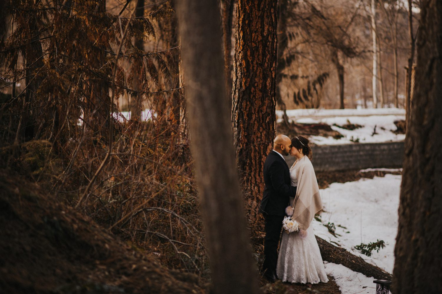 Kelowna Winter Wedding - Joelsview Photography_0113
