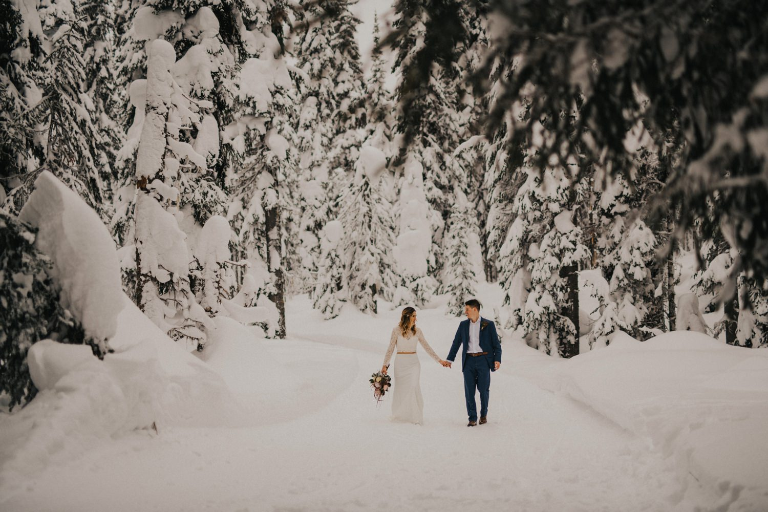 Silverstar Winter Elopement