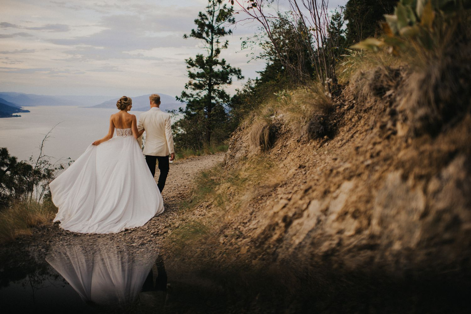 Breathe taking Okanagan Mountain Wedding