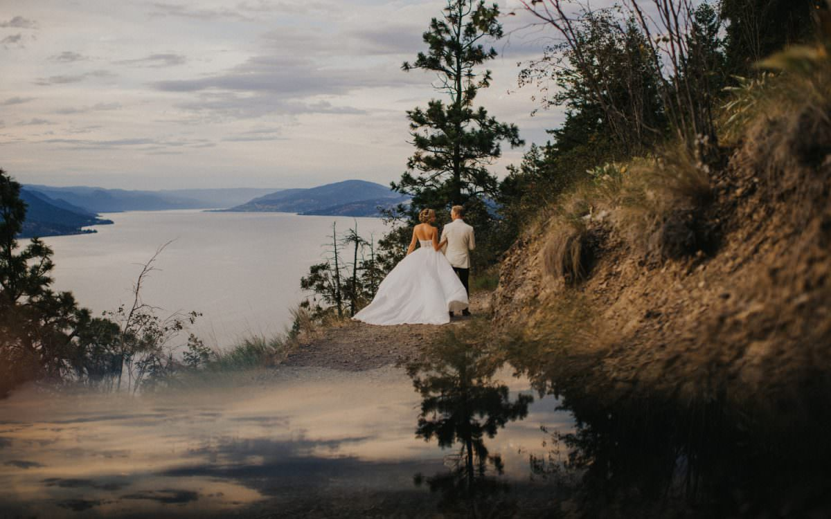 A Stunning Kelowna Wedding - Jared & Chloe