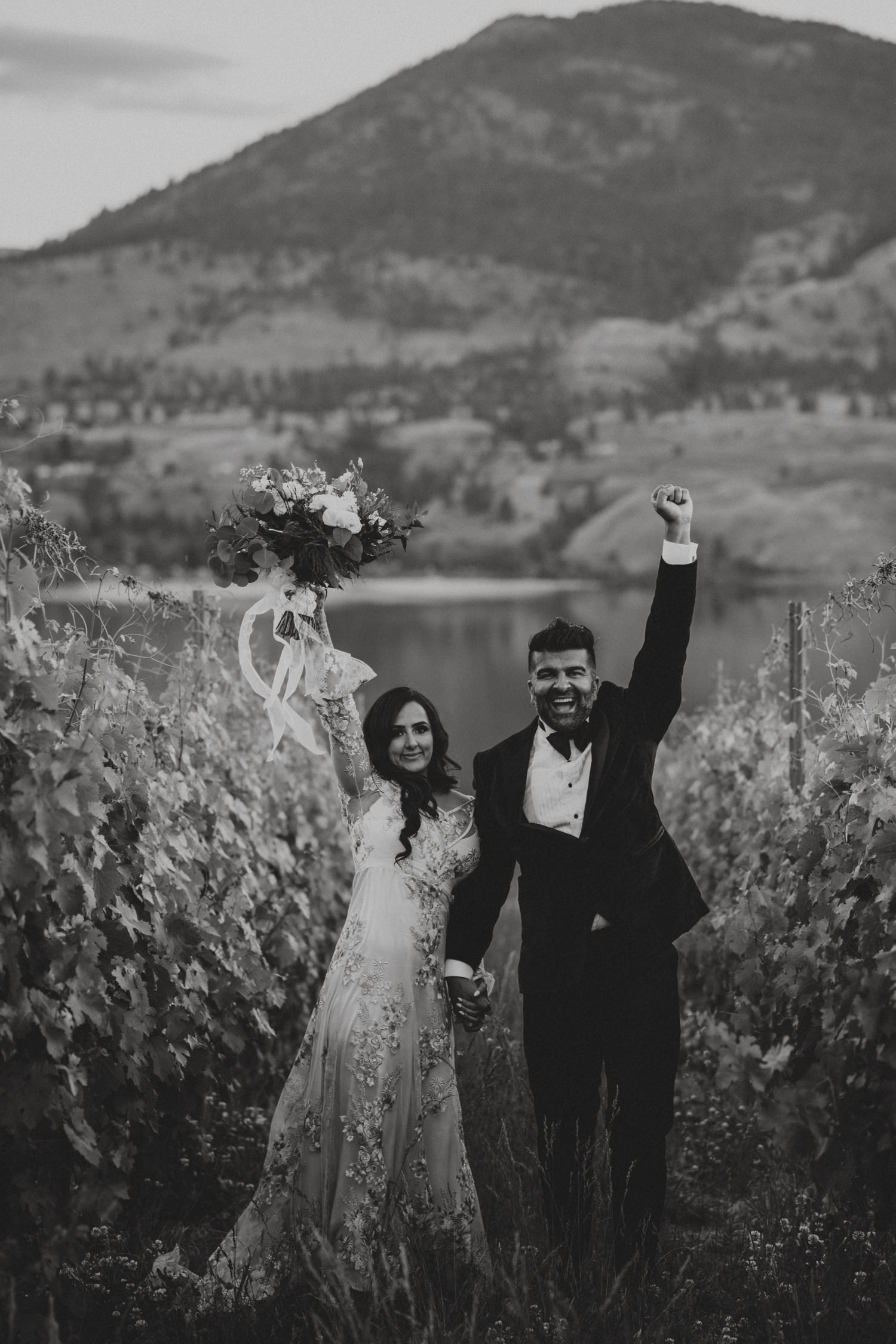 Painted Rock Winery Wedding