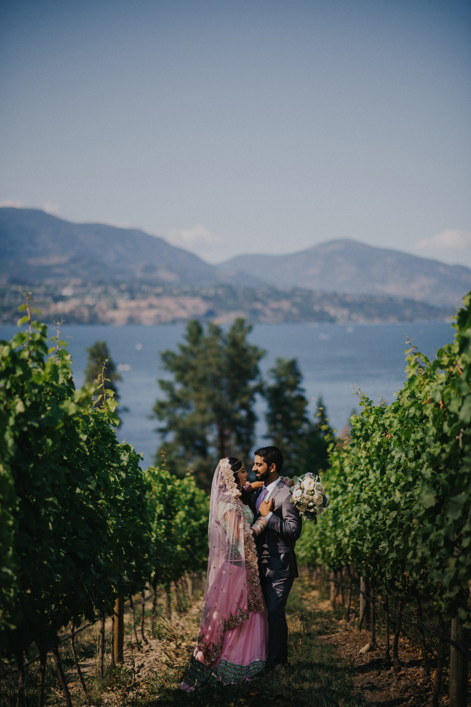Wedding Photography at Cedar Creek Winery in Kelowna