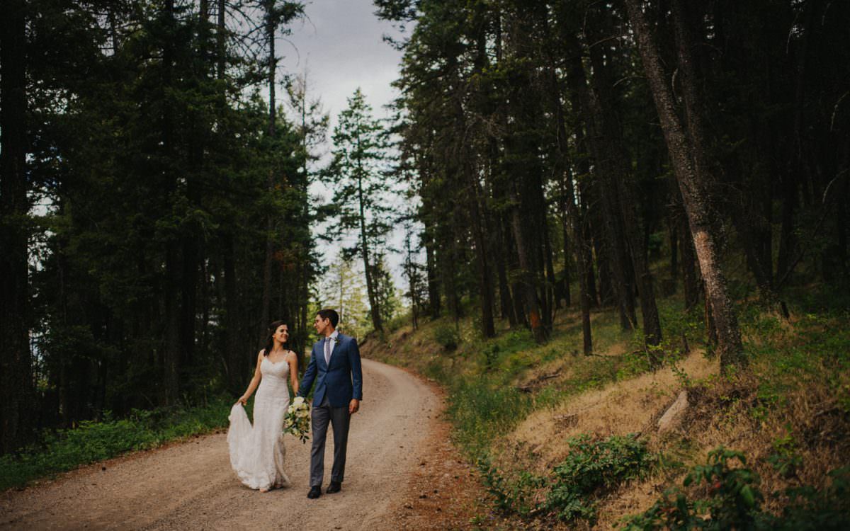 Kelowna Fintry Wedding Day