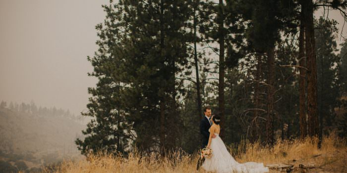 Smokey Kelowna Wedding At The Hotel Eldorado