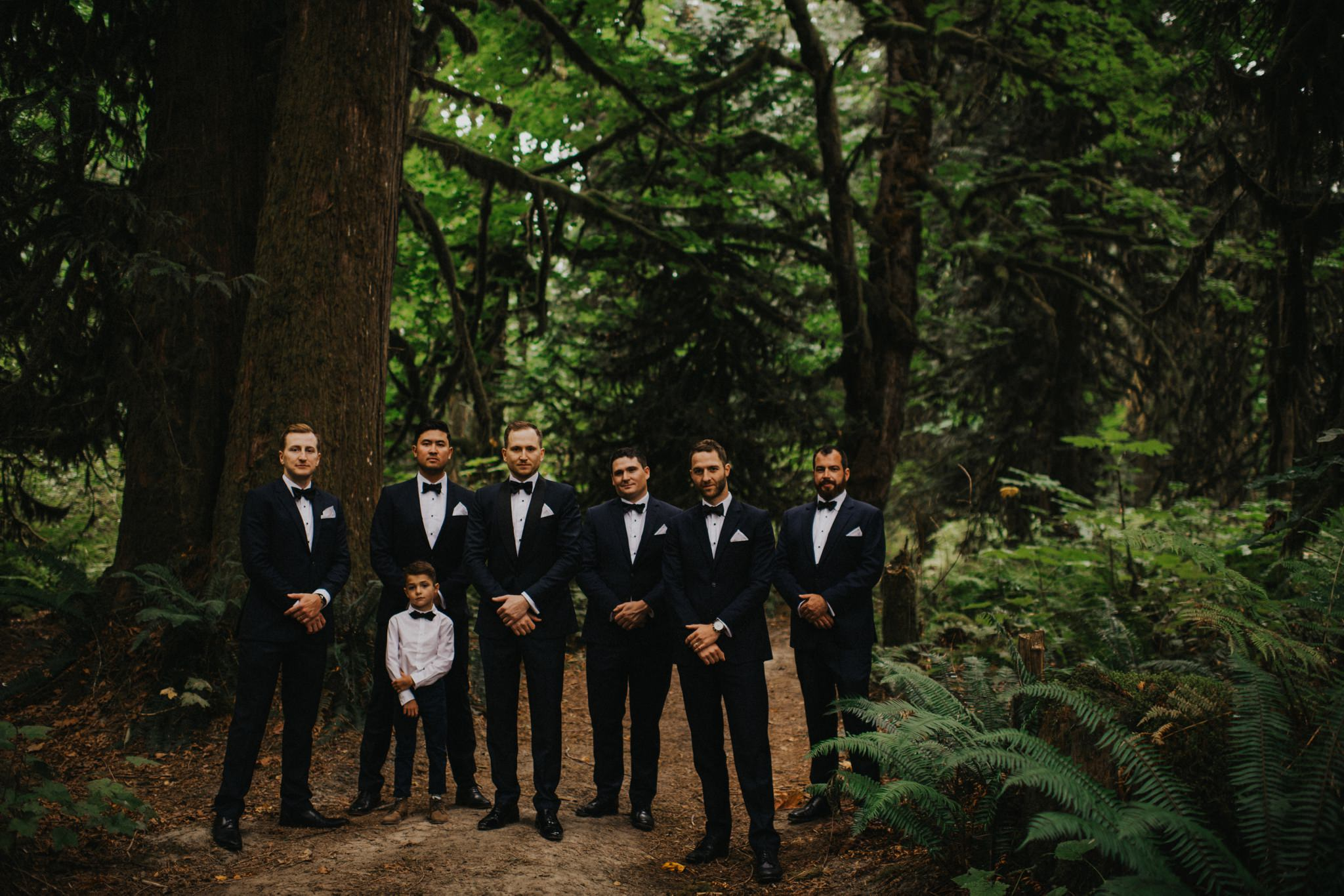 Squamish Forest Wedding