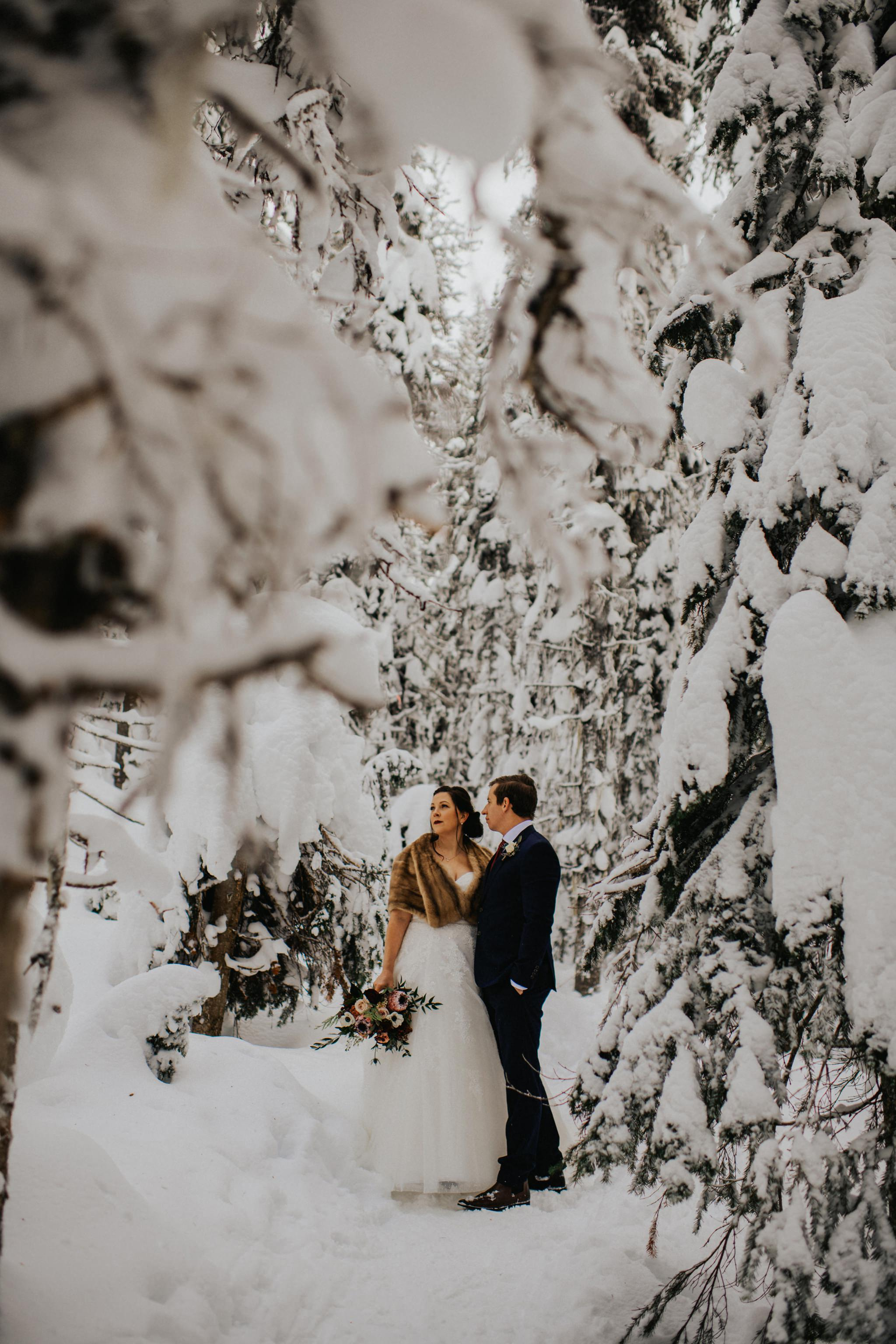 Kelowna Winter Wedding