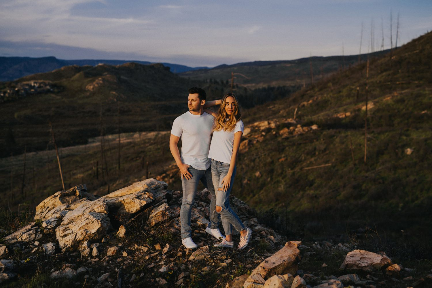 Okanagan Engagement Photos