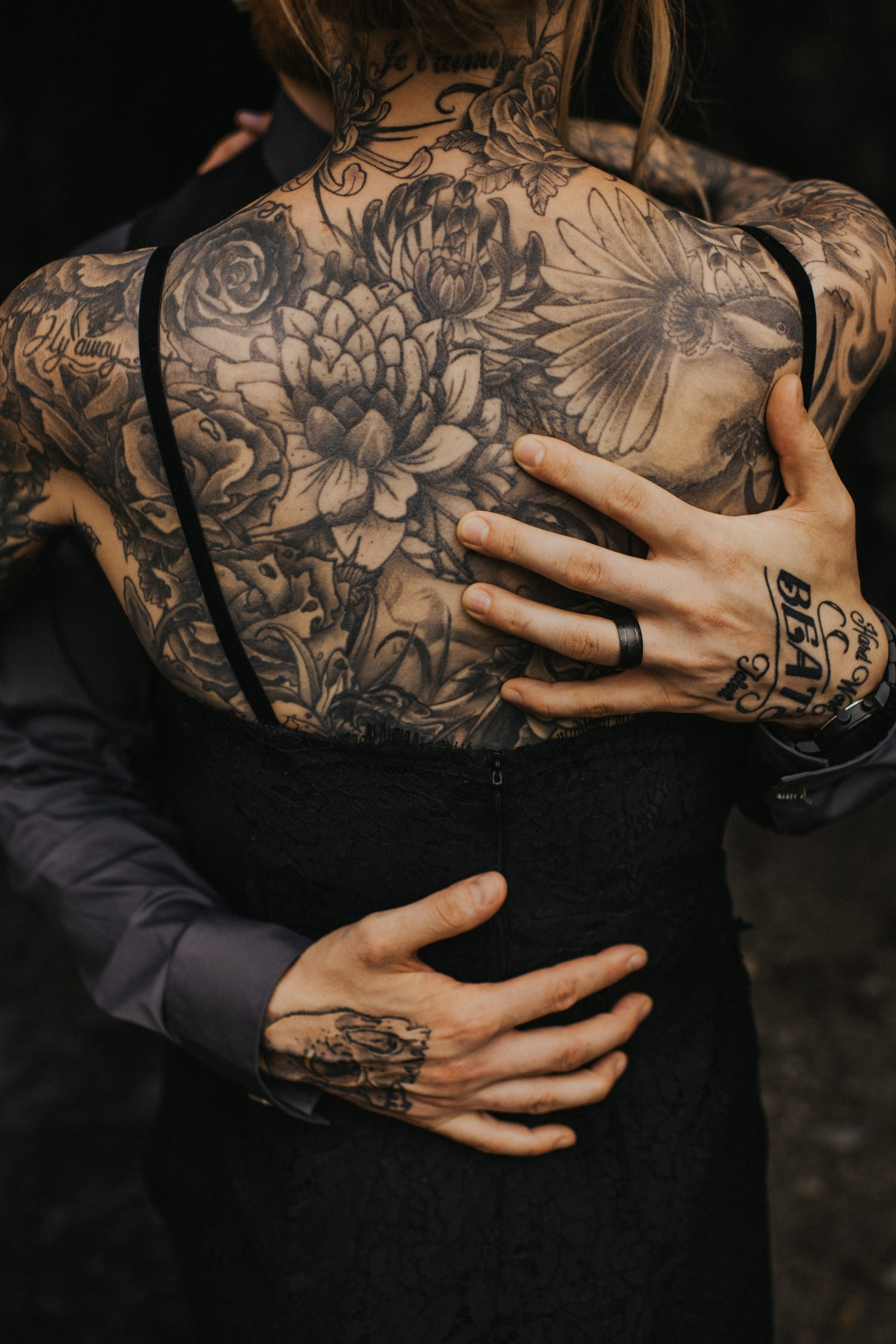 Tattooed Bride Photo