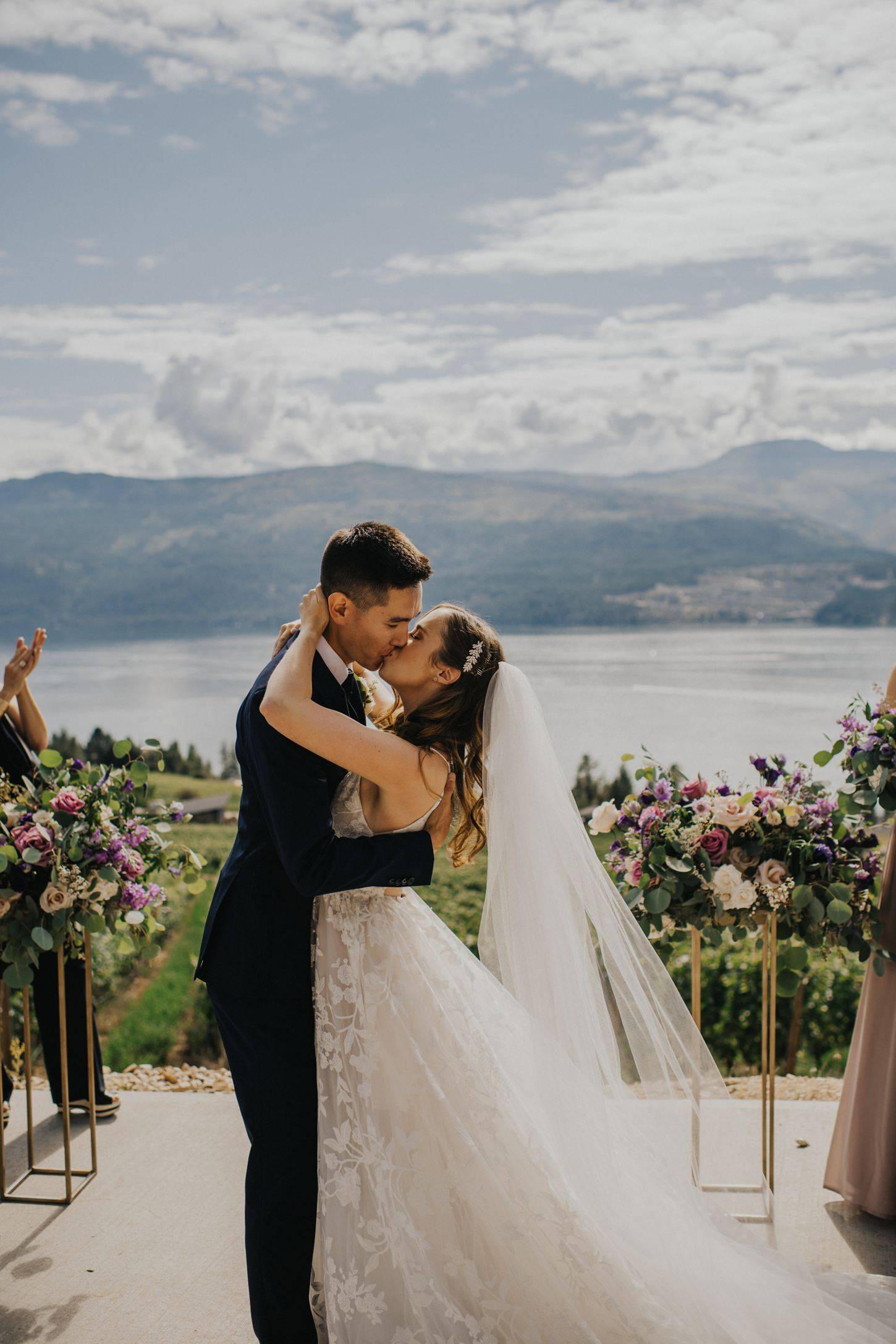 Kelowna Winery Wedding Ceremony