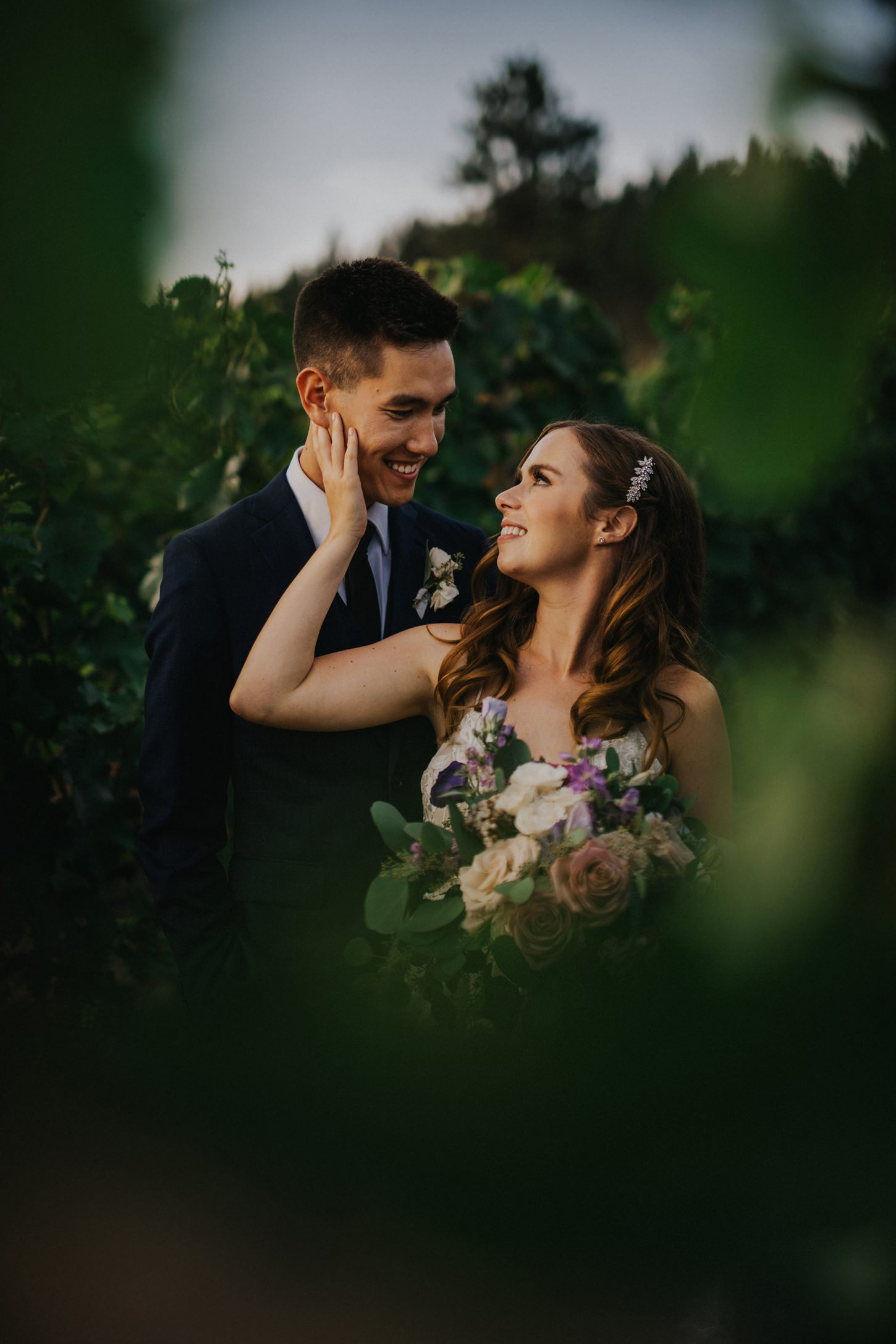 Kelowna Winery Wedding Photos