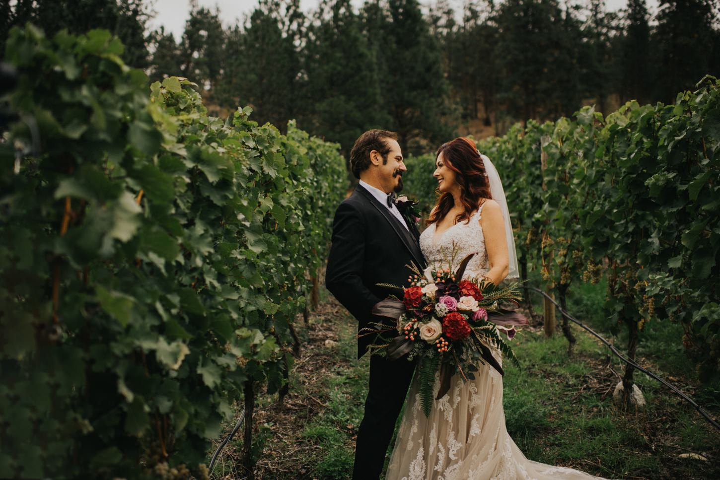 Okanagan Winery Wedding Photography