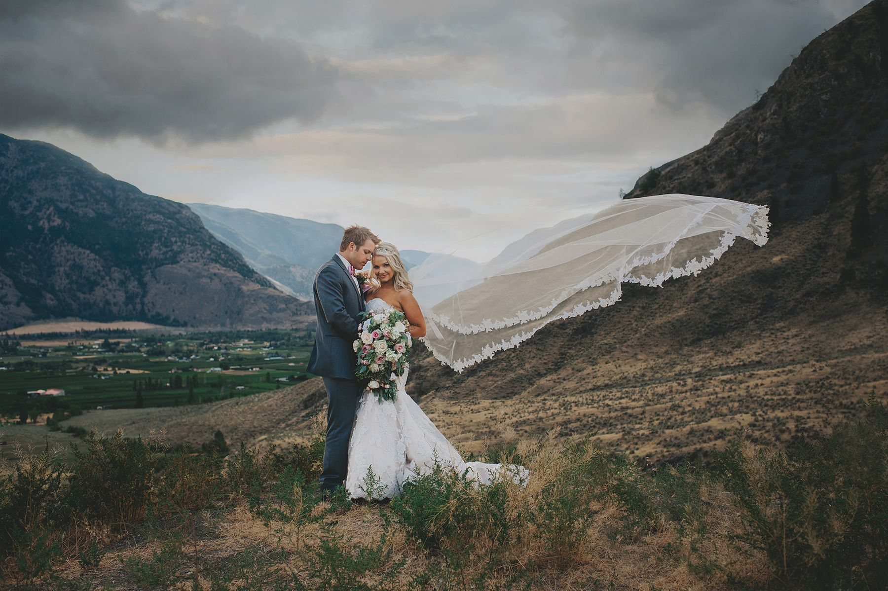 Stunning Mountain Wedding in British Columbia