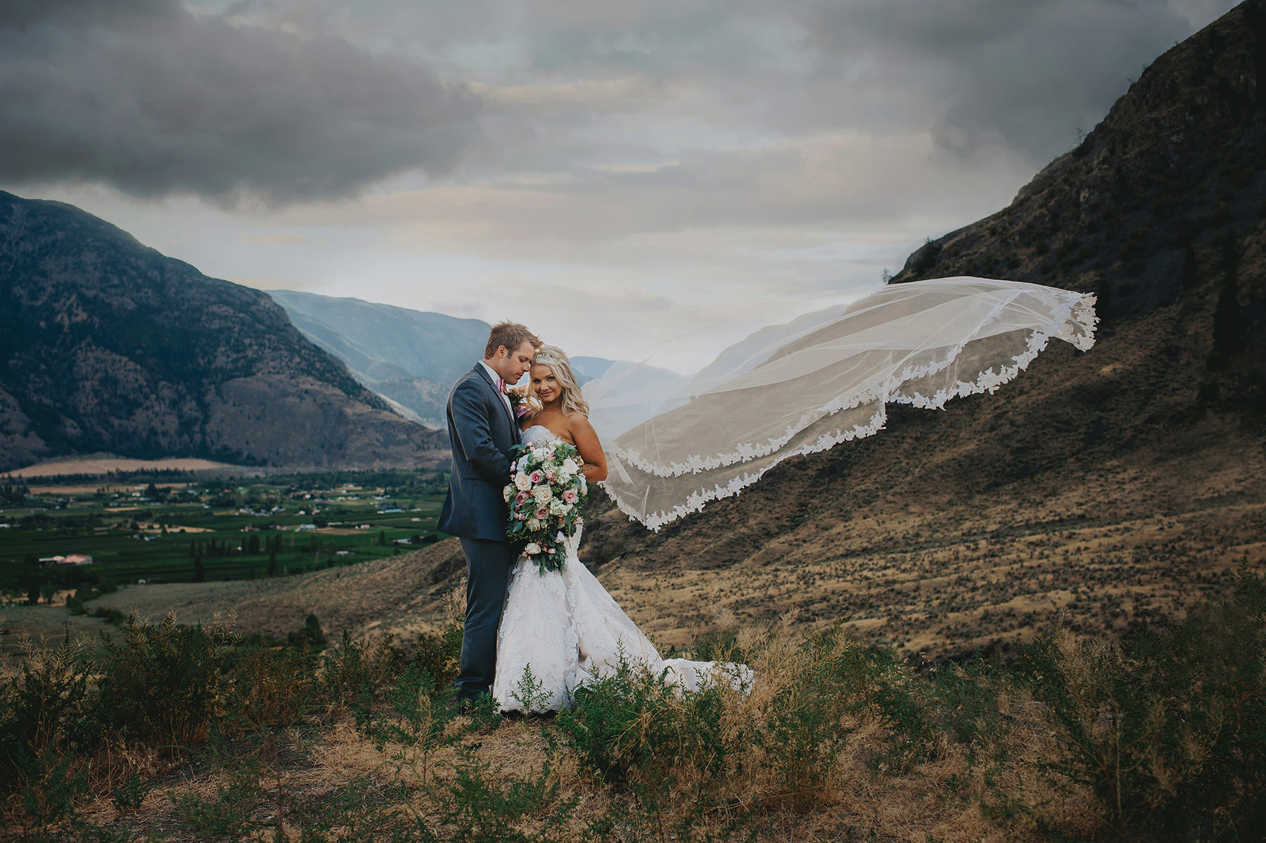 British Columbia Mountain Wedding
